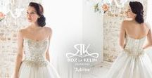 Diamond Collection | Roz la Kelin / Roz la Kelin's signature collection of Couture-like excellence,  Ready to Wear wedding dresses. Sizes available AUS 6 to 32 (US 2–28 ).   The art of uniquely understanding women's figures and her skillful ability to design wedding gowns with the combination of line, proportion, fabric, textures and finishes, creates a set of aesthetics that emphasise and minimise a woman's curves; this is the signature to a Roz la Kelin design. www.rozlakelin.com