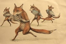 rabbits, foxes, squirrels,animalia