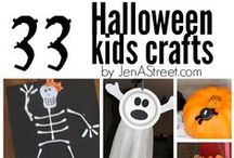 Halloween-Kids Crafts / Crafts to do with the kids that are Halloween themed.