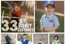 DIY Disney Costumes / A collection of kids costumes you can make yourself that are all disney themed.