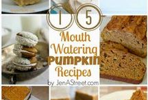 Fall-Pumpkin Recipes / Pumpkin related recipes to make in Fall or anytime!