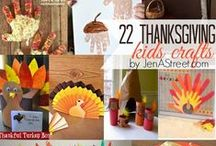 Fall-kids crafts / Crafts to do with the kids that are Fall themed.
