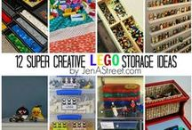 Home- LEGO Storage/Ideas / All the ways to organize and store all those Legos!