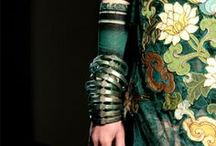 copious amounts of emerald / i've always wanted a green-green dress.