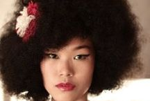 Asian Afro,Locs & Cornrows / by Carmen Jackson