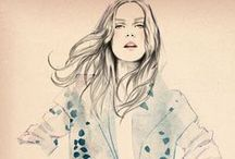 fashion illustration / by S. Kru