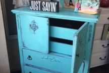 DID YOU SAY COLOR?? / There is MORE to painted furniture than white!!!!