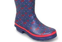 Festival Wellies / Check out our wacky colours and designs in the perfect festival wellies. Designs include zebra stripe, polka dot and pink tartan to name a few. Wacky colours include bright red, lime and metalic purple.