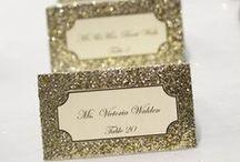 Escort Card Ideas / Flora Fetish hand-picked wedding inspo!