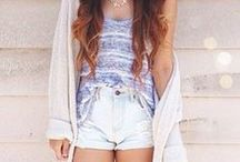 Cute clothes. :) / by Christina Bird