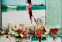 Crafts - Scrapbook Pages / Beautiful scrapbook pages