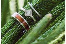 An Island Wedding Tradition / Platinum, 18K, and 14K women's and men's designs; traditional in concept, but designed with unforgettable Na Hoku elegance.