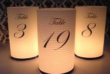 Table Numbers / Flora Fetish hand-picked wedding inspo!