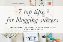 BLOGGING TIPS / Blogging tips, resources and ideas for creative entrepreneurs.  Everything from how to start a blog, to how to market it.  What blog posts to write and how to grow your readers.