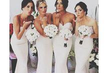 The girlies! Bridesmaids board / Bridesmaid ideas