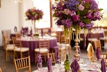 Purple & pink wedding / Purple wedding
