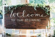 Wedding Signs / Our Flora Fetish approved wedding signs for inspiration!