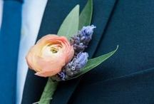 FF Boutonnieres / Check out some of the boutonnieres we designed, featured in our weddings!