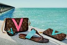 Summer with Louis Vuitton / For a day at the beach, a garden party or evening soirée, you'll be summer chic Louis Vuitton's seasonal collection of bags, shoes, accessories and sunglasses / by Louis Vuitton Official