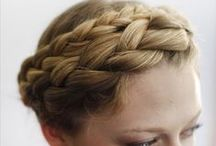 HairDo's / for when I make time to not do a spin-pin bun. / by Ashley Legan