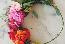 Bridal crowns / Flora Fetish hand-picked flower crown wedding inspo!