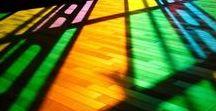 Colors / Esplosione di colori. Tavolozze. Luci.
