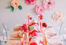 Party Ideas / Bridal shower, kids parties, and weddings / by Valerie Jensen