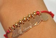 Bracelet coeur gravé