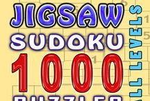 Jigsaw Sudoku / Irregular sudoku, twisted sudoku, jigsaw sudoku, squiggly sudoku... you name it!  Puzzles and Jigsaw Sudoku books! / by Djape