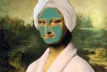 Mona Lisa / Mona Lisa Parodies and More! / by Teach Kids Art