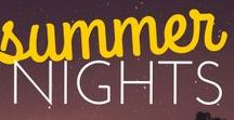 tgna summer nights. / The Great Noveling Adventure's Summer 2015 anthology inspiration and promo.