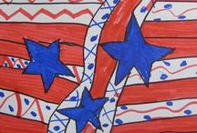 Holidays: Patriotic / Art projects, crafts, and food for Memorial Day, 4th of July, or any patriotic occasion! / by Teach Kids Art