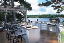 Outdoor Kitchen Inspiration / Be inspired by the most innovative outdoor kitchens in the world.
