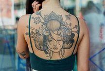 gettin' a tattoo ..yeah... gettin' ink done.