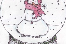 Holiday Card Projects / 2007 - no theme, 300+ classrooms, 2008 -- no theme, 400+ classrooms, 2009 -- no theme, 700+ classrooms,  2010 -- Gingerbread Theme, 800+ classrooms, 2011 -- Snowman theme, 1,000 classrooms, 2012 -- 1,100 classrooms, Snowglobe Theme, 2013 -- Mitten, Hats, & Scarves Theme