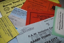 Archive - Tickets / by Barry Town Online Museum
