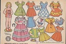 Paper Dolls / by Pam Thompson