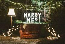 Pedidos de casamento - - - casar noivas / ideias para pedidos de casamento/ marriage proposals ideas