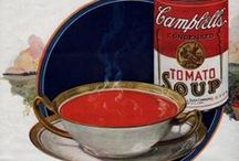 Campbell's Ads / Don't know why I like these so much - but I do. I collect Campbell's memorabilia, especially vintage ads with the Campbell Kids. / by Pam Thompson