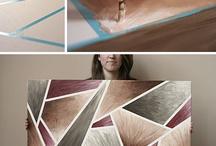 DIY Wall Art / Wall art, DIY wall art, art inspiration, decorating / by Teresa Sittner-Kinnison