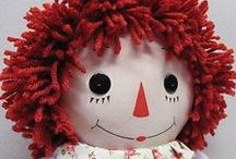 Raggedy Anne and Andy / by GardenOfDaisies