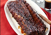 Father's Day Recipe Ideas / Barbecued ribs, burgers and everything you need to make Dad's day a yummy one.