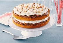 Pumpkin Desserts / Pies, breads, cheesecakes and more. Pumpkin recipes for you to explore. / by what's cooking - Kraft Canada