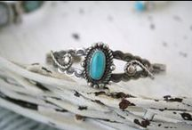 My Kryptonite                                           (Silver and Turquoise)
