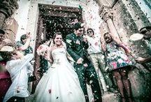 Casados e abençoados! Just married! / by CASAR NOIVAS
