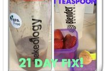 21 Day Fix / My board for meal ideas and inspiration for this program / by Ronni Mojado