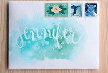 KreaDoe: Lettering / Kalligrafie | Modern Kalligrafie | Hand lettering | Creative Lettering