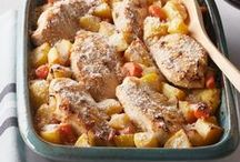 One-Pot Meal Ideas / One-pot meals save the day when you want to enjoy a delicious lunch or dinner but don't want to spend lots of time on cleanup. Easy, fast and tasty combine in just one pot.