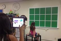 GREEN SCREEN / Samples and examples of classrooms using Green Screen.  My class examples are labeled with MY CLASS.
