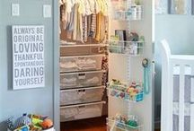 HOME Organization and Planning / Great ideas and tips to organization your home from top to bottom; from kitchen to bedroom, bathroom to garage, from office to playroom.